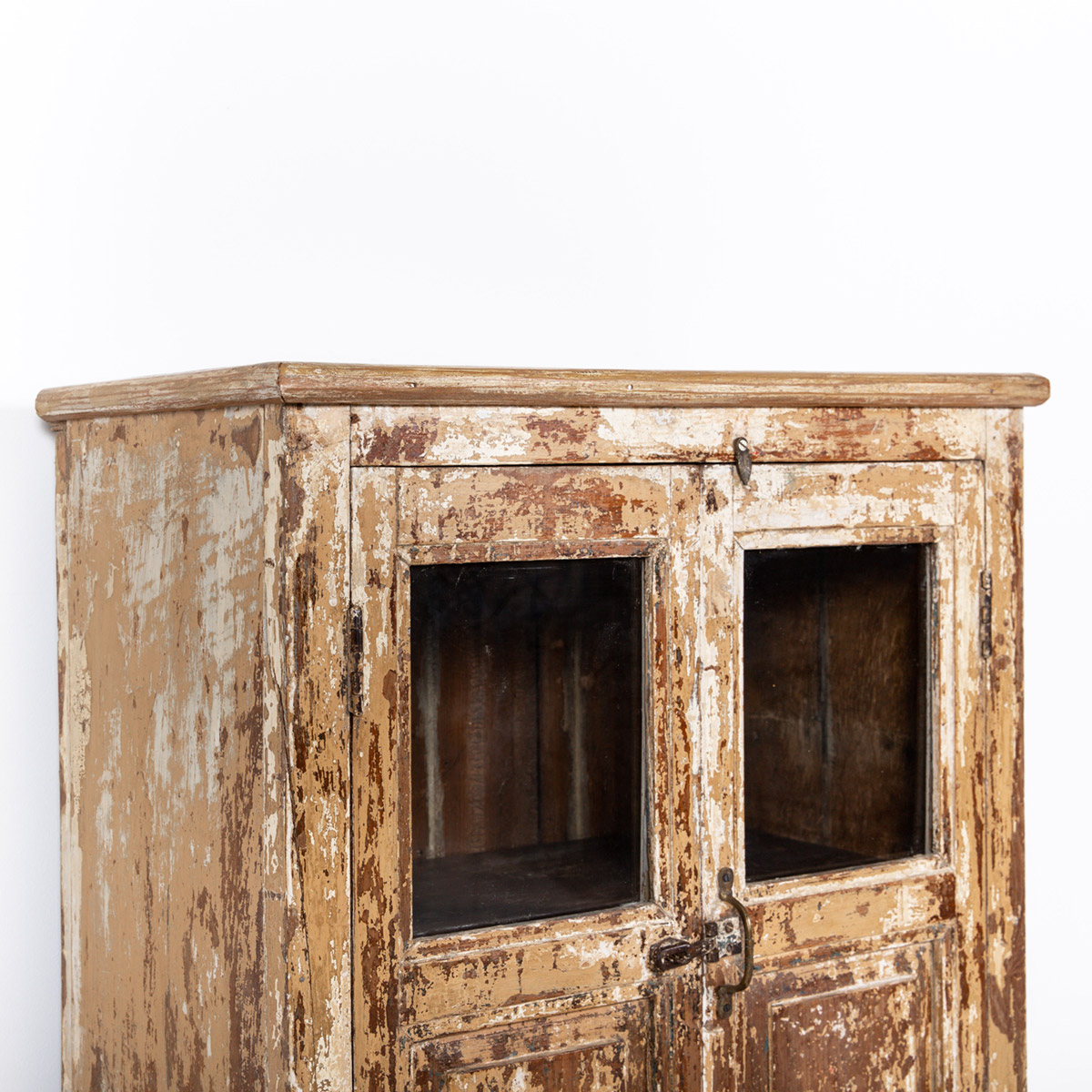 Oud-kastje-2-deuren-1-lade-bruingeel-8