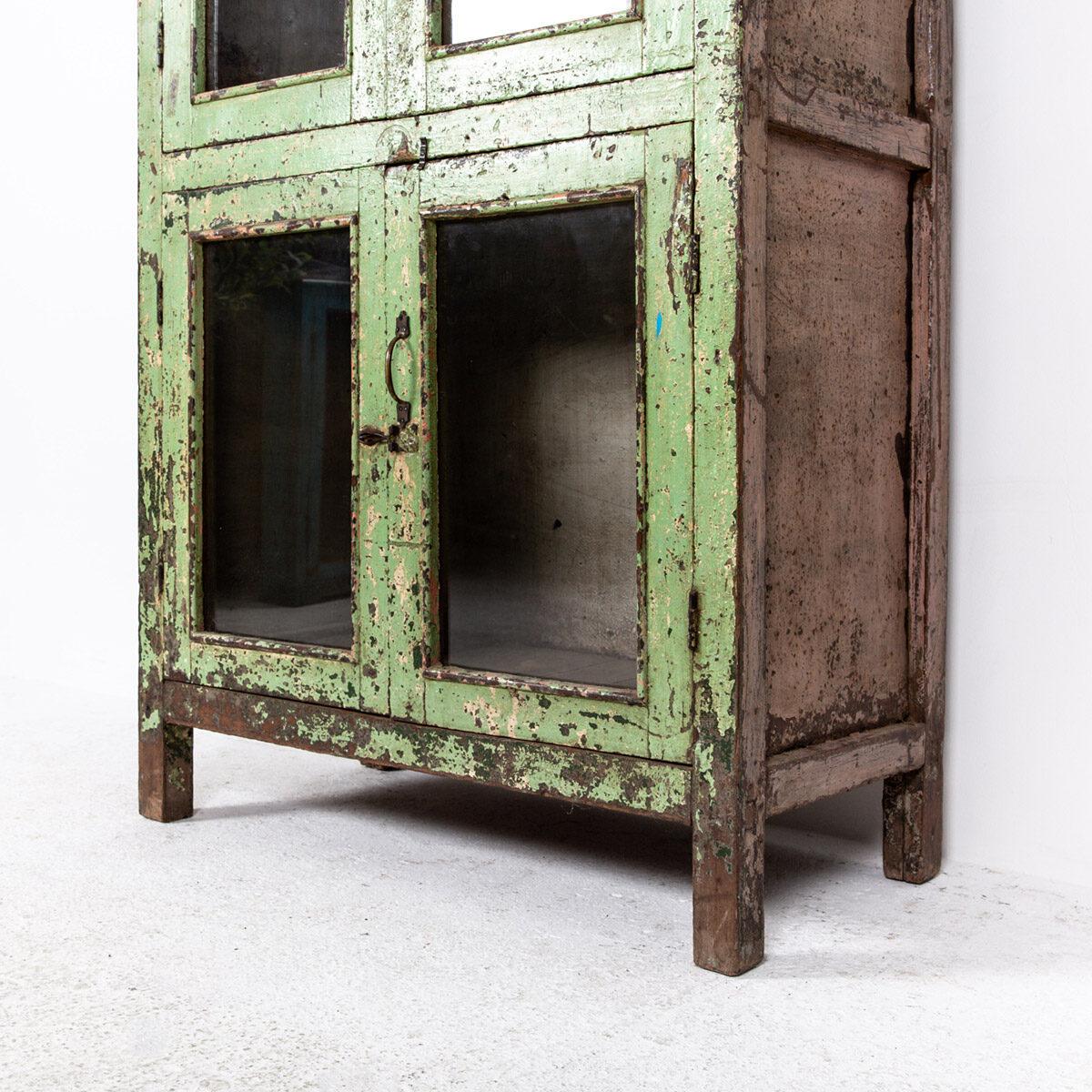 Oude-kast-4-deuren-groen-13