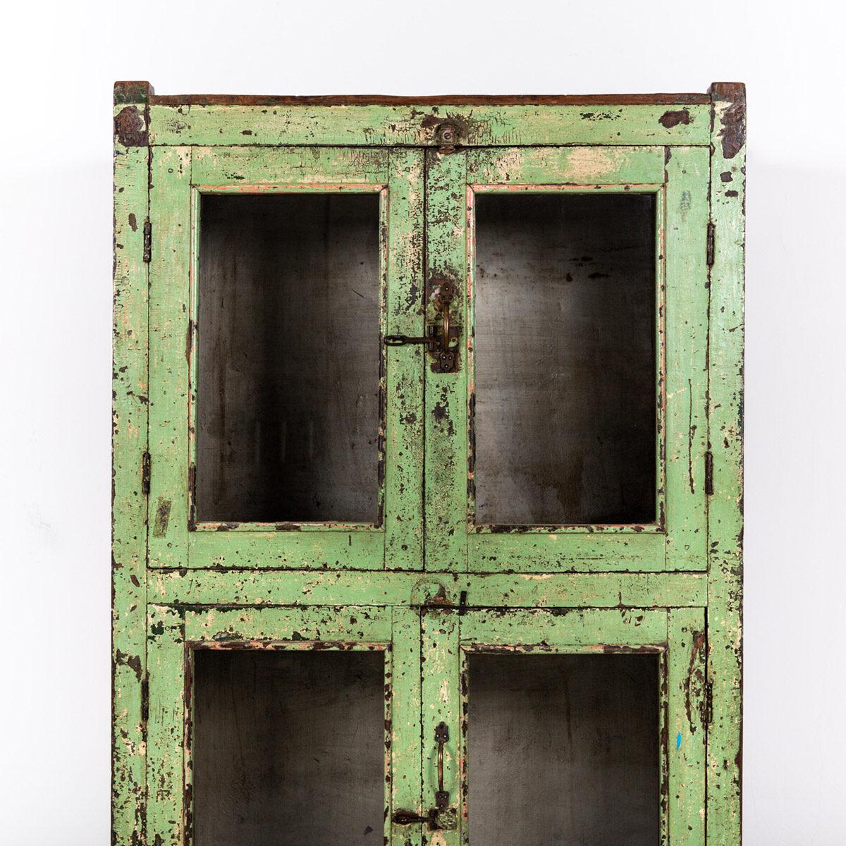 Oude-kast-4-deuren-groen-14