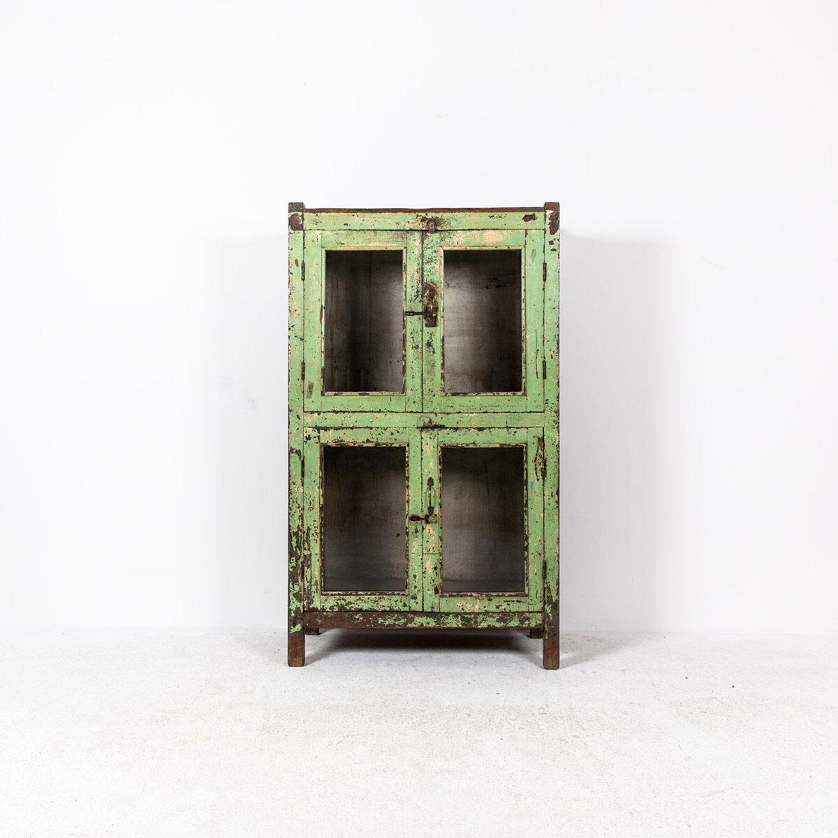 Oude-kast-4-deuren-groen-7