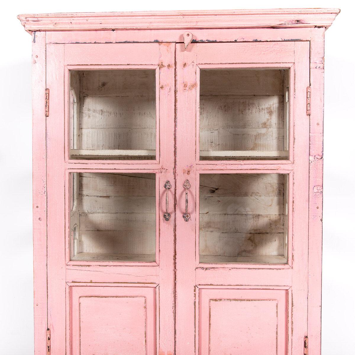 Roze-vitrinekast-2-glazen-deuren-8