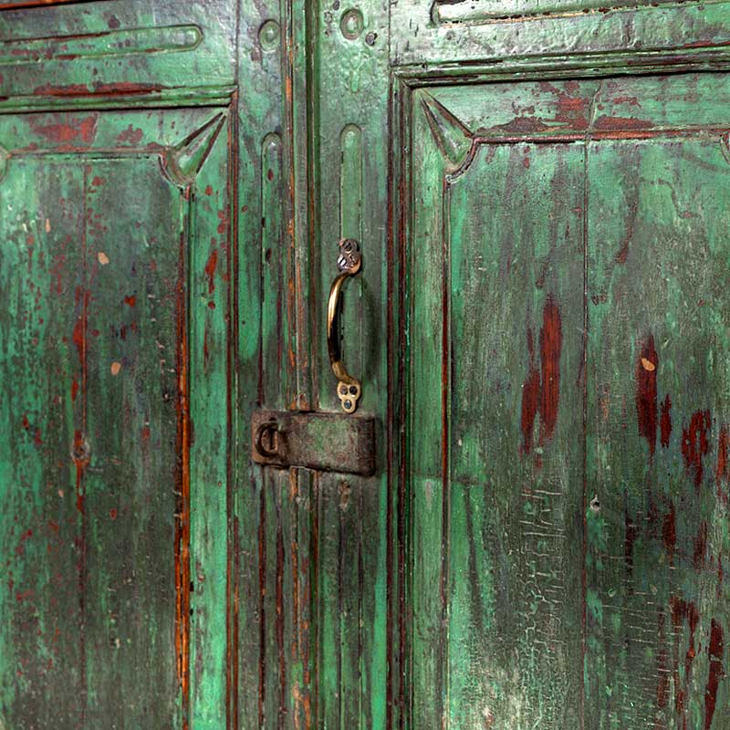 Groene India Kast